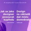 Přijďte na Čtvrtkon: Jak na design #1