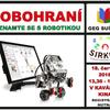 Přijďte na Robohraní – seznamte se s robotikou #1
