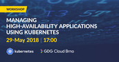 Managing high-availability applications using Kubernetes