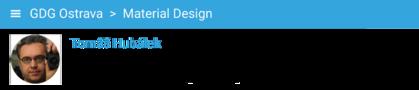 Material design prakticky s Tomášem Hubálkem #1