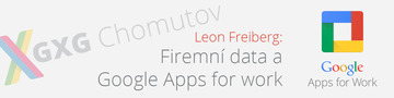 Firemní data a Google Apps for Work #1
