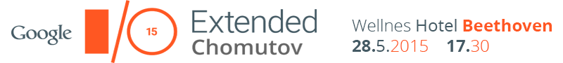 Google I/O Extended 2015 Chomutov #1