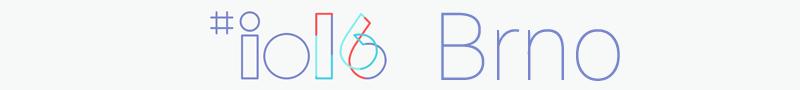Google I/O Extended 2016 Brno #1