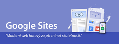 Nové Google Sites #1