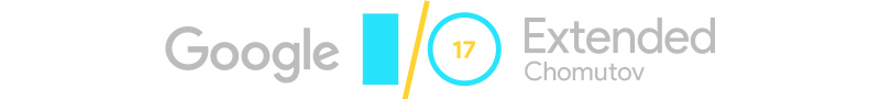 I/O Extended 2017 Chomutov #1